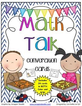Math Talk Conversation Cards