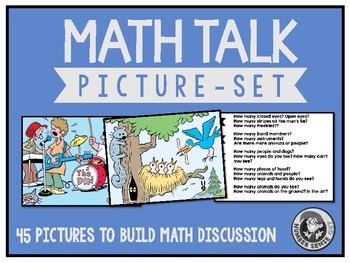 Math Talk Picture Set