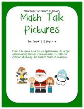 Math Talk Pictures: Nov-Jan