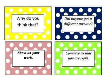Math Talk Prompts