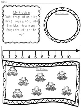 Math Task: Addition and Subtraction Story Problems