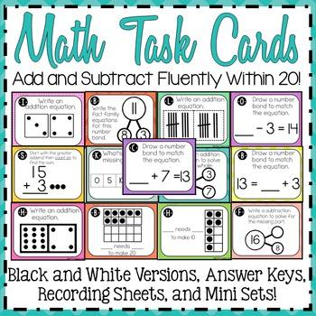 Math Task Cards 2.OA.2