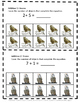 Math Task Cards  Owls Counting, Addition, Subtraction, P-K