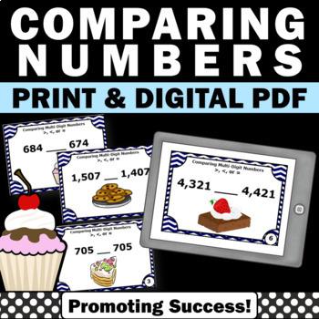 comparing multi-digit numbers games activities