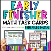 Math Task Cards for Early Finishers