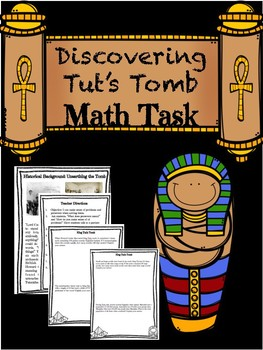 Math Task Center CCSS Aligned with King Tut