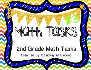 Math Tasks (2nd Grade Set #3)
