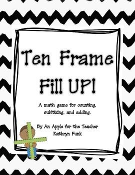 Math Ten Frame Game