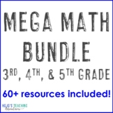 Math Center Games All Year Long {3rd, 4th, 5th Grade}