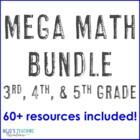 Math Center Games All Year Long {3rd, 4th, 5th Grade}