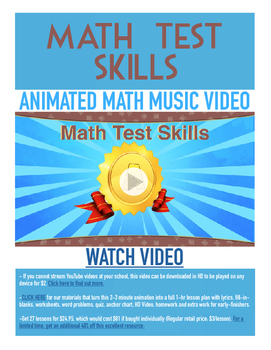 TEST PREP, Math | Free Printable, Worksheet, & Fun Video |