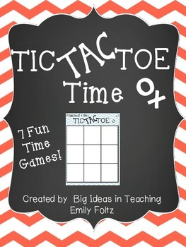 Time Tic Tac Toe ~ 7 Games..Elapsed, minute, starting time