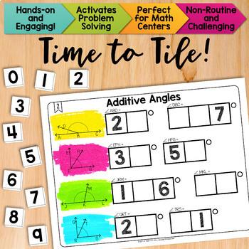Math Tiles: Additive Angles   Math Centers