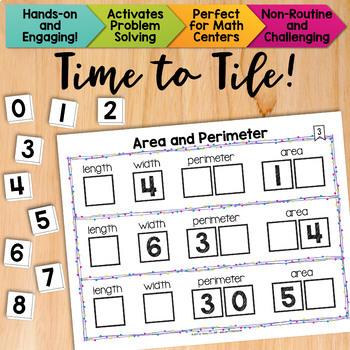 Math Tiles: Area and Perimeter | Math Centers