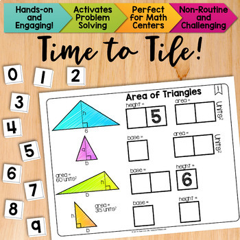 Math Tiles: Area of Triangles