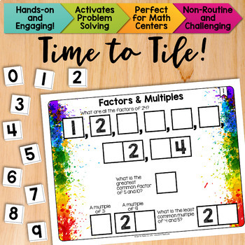 Math Tiles: Factors and Multiples