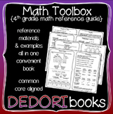 Math Toolbox - 4th Grade Resource & Reference Guide for Students