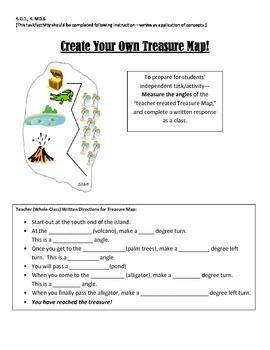 Math Treasure Map