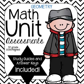 Geometry- Math Unit Assessment (5th Grade)
