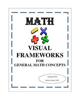 Math; Visual Frameworks for General Math Concepts