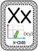 Math Vocabulary Alphabet 5th Grade Grey Polkadot