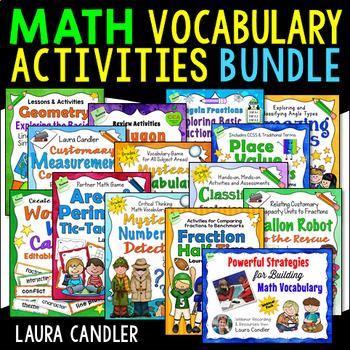 Math Vocabulary Building Bundle