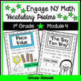 Math Vocabulary Posters for Engage New York First Grade Module 4