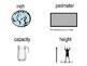 Math Vocabulary Word Wall Patterns PK - 2nd Grade