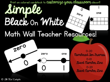 Math Wall Teacher Resources!