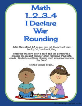 Math War Rounding Hundreds