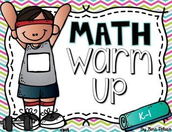 Math Warm Up: Printable Version