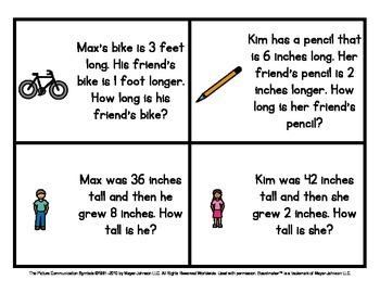 Math Warm Ups (Set 2) - Story Problems for Kindergarten to