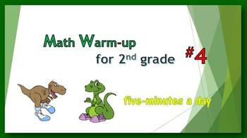 Math Warm-up for 2nd grade #4