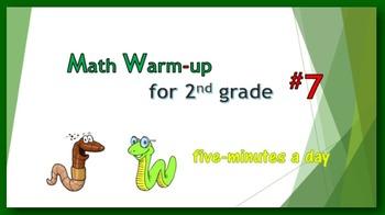 Math Warm-up for 2nd grade #7