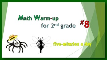 Math Warm-up for 2nd grade #8
