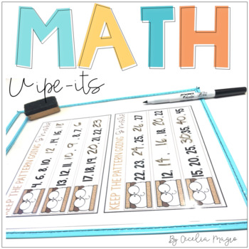 Math Wipe-Its for the Primary Grades
