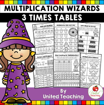 Math Wizards Multiplication 3 Times Tables