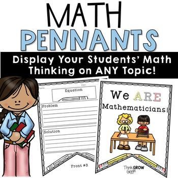 Math Word Problem Pennants