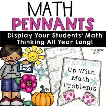 Math Word Problem Pennants All Seasons