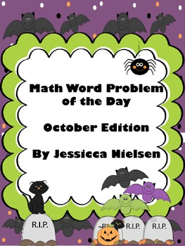 Math Word Problem of the Day- October Edition