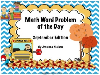 Math Word Problem of the Day: September Edition