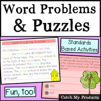 Various Word Problems and A Puzzle to Challenge Gifted Students