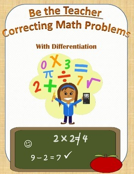 Correcting Math  Word Problems with Differentiation