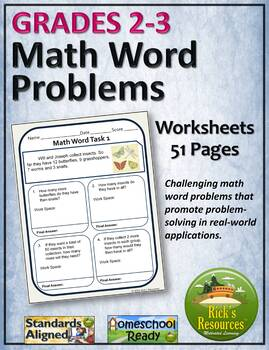 Multi-Step Word Problems Math Stories - Worksheets