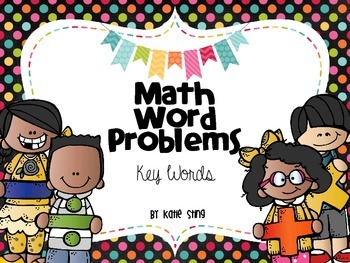 Math Word Problems: Key Words