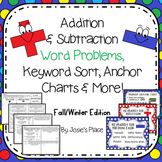 Word Problems, Keyword Sort & More (Fall/Winter) *Choose y