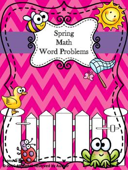 Math Word Problems Spring