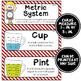 Math Word Wall Cards (4th Grade - Nautical)