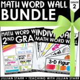 Math Word Wall Bundle: Grade 2