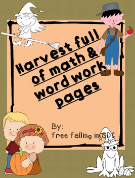 Math & Word work color by code pages